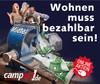 Campact-Aktion: Wohnen muss bezahlbar sein!